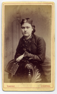 Aaron Vandyke carte de visite photograph 3 dated 1877