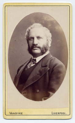 Aaron Vandyke carte de visite photograph 5 dated 1879