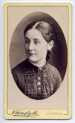 Aaron Vandyke carte de visite photograph 6 dated 1882
