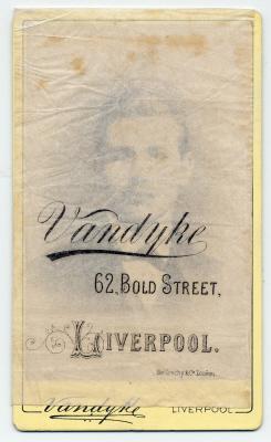 Aaron Vandyke carte de visite photograph 10
