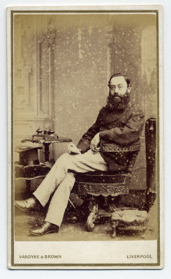 Vandyke & Brown carte de visite photograph 7 dated 1870