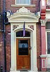 Frank Walton's home and studio at No. 51 New Briggate, Leeds