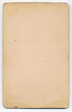 Frank Walton carte de visite photograph 11 (verso)
