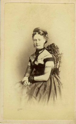 Marcus Guttenberg carte de visite photograph 23A, handwritten. Image courtesy of Paul Godfrey