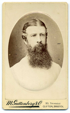 M Guttenberg & Co carte de visite photograph 1