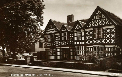 Churches Mansion, Nantwich