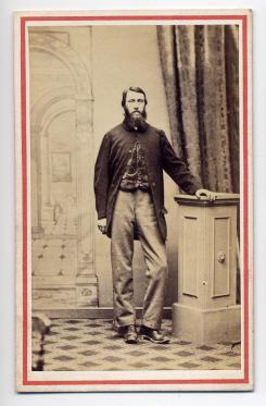Edwin Herbert Rhodes carte de visite photograph 2