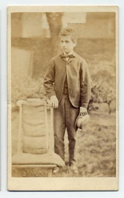 Edwin Herbert Rhodes carte de visite photograph 3