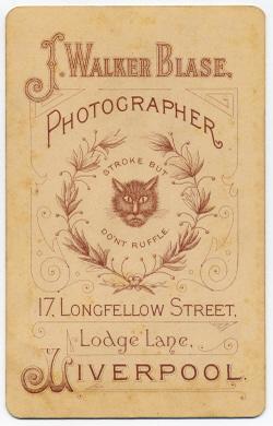 John Walker Thomas Blase cabinet photograph 1 (verso)