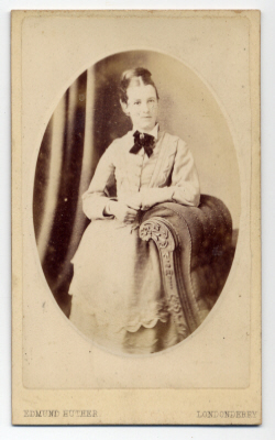 Edmund Joseph Huther carte de visite photograph 2