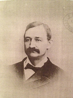 Photo of Frederick Gustavus Barnaby by G C Gowie