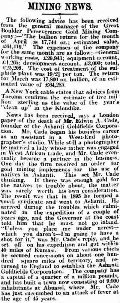Advertiser (Adelaide, South Australia) 17 June 1903 p. 11