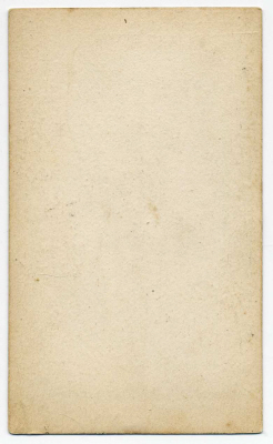 Robert Cade carte de visite photograph 1 (verso)