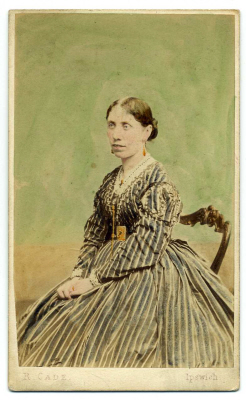 Robert Cade carte de visite photograph 7 coloured