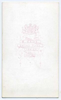 Robert Cade carte de visite photograph 12b pair