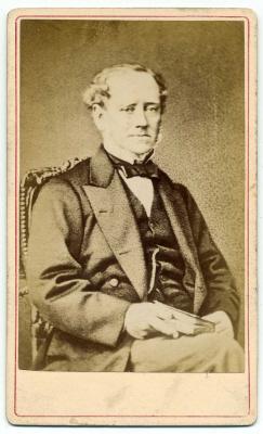Henry Bown photograph 1 - carte de visite
