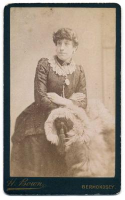 Henry Bown photograph 3 - carte de visite