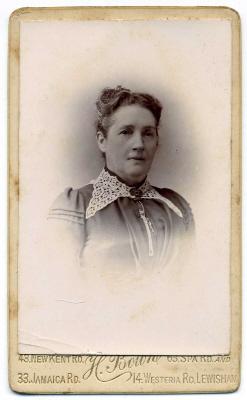Henry Bown photograph 17 - carte de visite