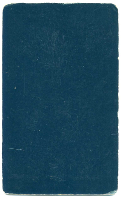 Henry Bown photograph 17 - carte de visite (verso)