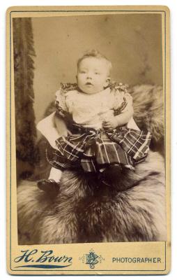 Henry Bown photograph 19 - carte de visite