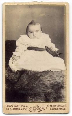 Henry Bown photograph 20 - carte de visite