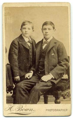 Henry Bown photograph 21 - carte de visite