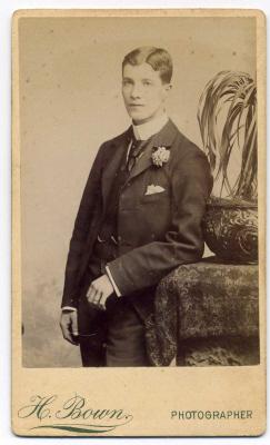 Henry Bown photograph 26 - carte de visite