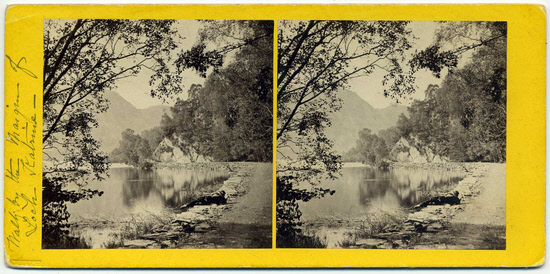 Stereo-card by John Moffat - front