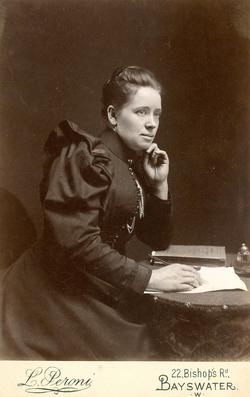 Alice Ann Skinner taken about 1897