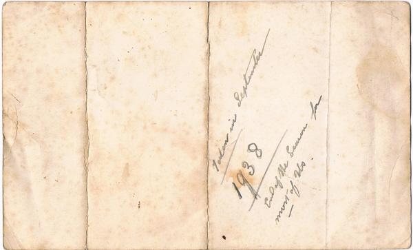 carte de visite Peroni Biography 21
