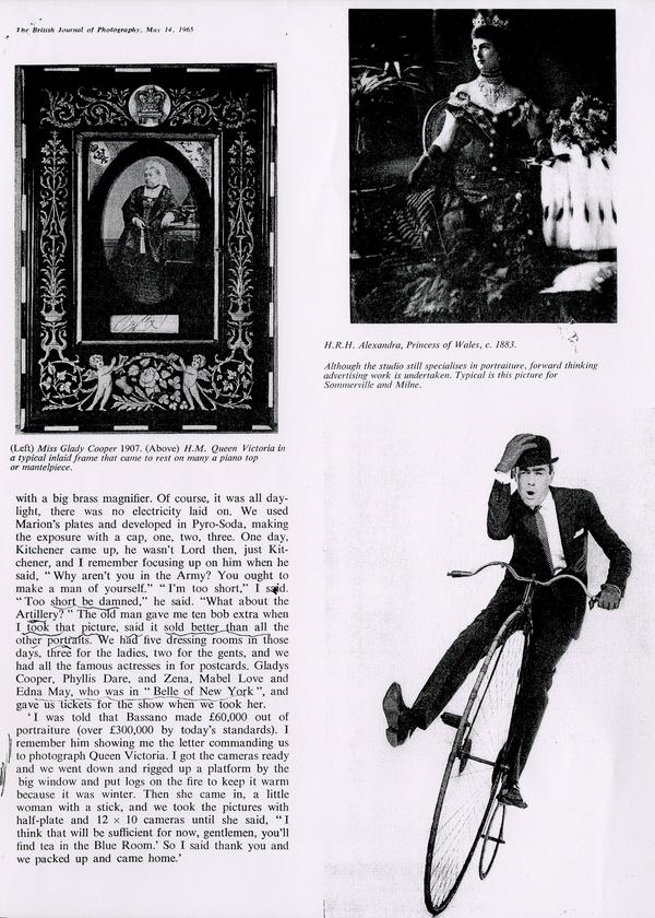 carte de visite Peroni Biography 47
