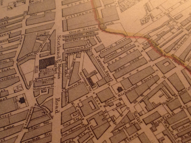 John Hinchcliffe Map