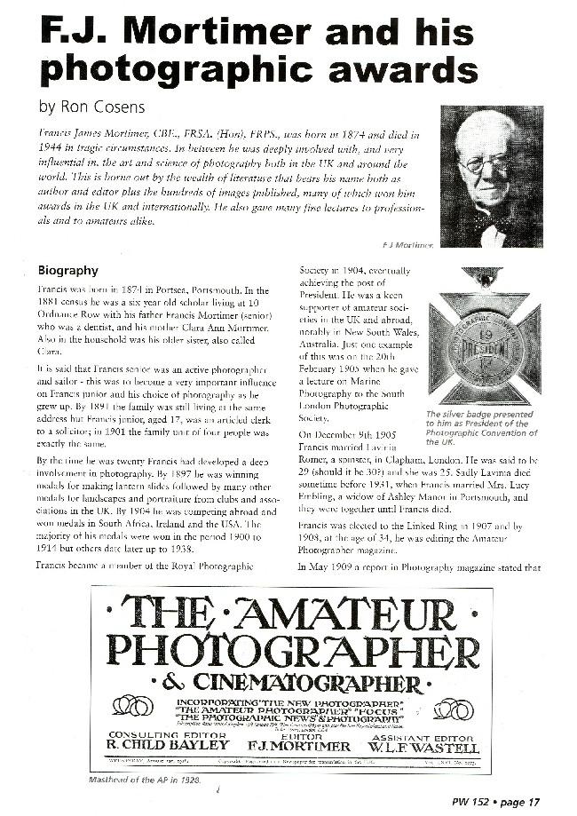 F J Mortimer Page 17