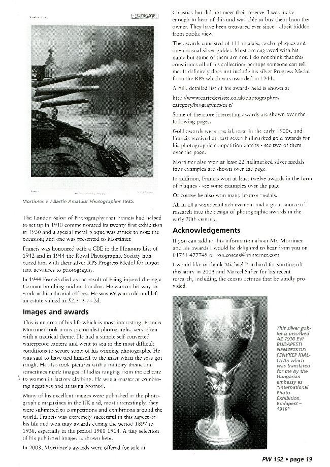 F J Mortimer Page 19