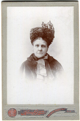 Henry Bown photograph 29a – cabinet card