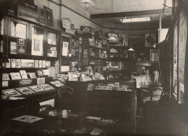 Hinchcliffe's Wireless & Cameras shop 4 Campbell Street Leicester interior