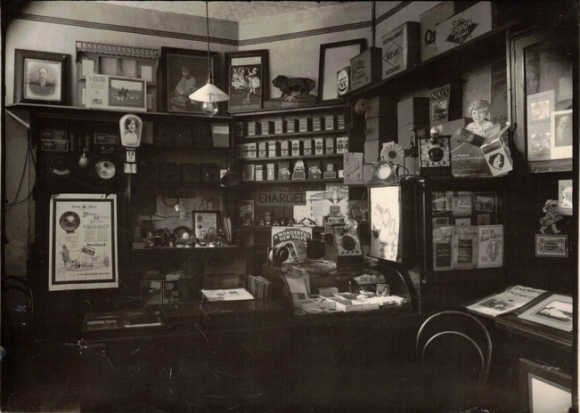 Hinchcliffe's Camera Store, 4 Campbell Street, cropped - Doug 96dpi