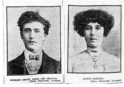 Mug shots from Liverpool 1907 baby trafficking article Ellen sent 1-13-2021, could have been taken by Henry, Ramsden, or Eugene
